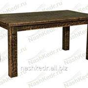 Старенный Стол обеденный, кедр (760 высота*1000 ширина*1500мм длина) фото