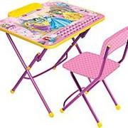 Комплект детской мебели Принцесса Д3П фото