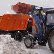 Вывоз уборка снега фото
