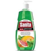 Мыло жидкое Sanita кух. 500мл гр/мята фото