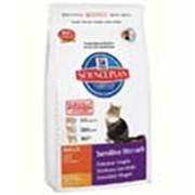 Корм для котов Hill's Science Plan Sensitive Stomach для кошек c чувствительным желудком с курицей 400 гр фото