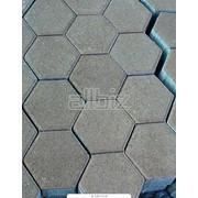 Плитка тротуарная . фото