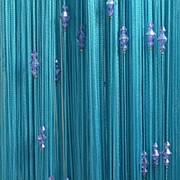 Нитяные шторы Кисея фото