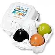 Специальный набор мыло-маск из 4 штук Egg Soap Special Set(50Gх4) фото