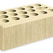 Кирпич керамический облицовочный (лицевой) пустотелый Пшеничное лето Бархат 1,4 NF фото