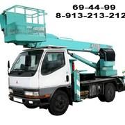 Услуги подъёмников от 12 до 50 метров фото
