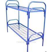 Кровать металлическая двухъярусная 100*100мм 2КС-1 фото