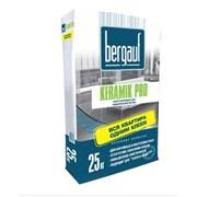 Усиленный клей БЕРГАУФ Keramik Pro для керамической плитки и теплого пола (25 кг) фото