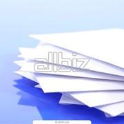Флатовка бумаги и картона с рулона на листы Киев фото