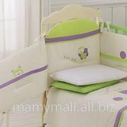 Комплект белья Tulipano фиолетовый от Italbaby фото