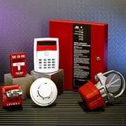 Монтаж систем оповещения о пожаре. фото