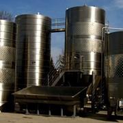 Резервуары вертикальные для хранения ГСМ фото