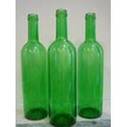 Бутылка винная бордо фото