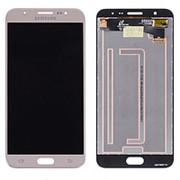 Дисплей для Samsung J7 Prime G610 Model:Dual в сборе с тачскрином (Gold) фото