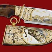 Нож Полосатый хищник 330*143*50*6 фото