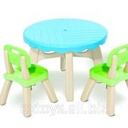 3017-02 Детский стол и 2 стульчика Crayola Grown up Алматы фото