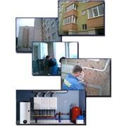 Монтаж систем поквартирного теплоснабжения фото