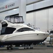 Тенты для катеров, яхт, моторных и резиновых лодок фото