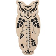 "Термометр ""Сова"" 16,6*7,5 см. для бани и сауны БШ. фото"