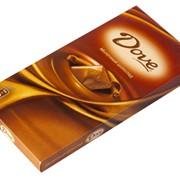 Молочный шоколад DOVE фото