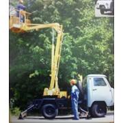 Автогидроподъёмники АГП 9 на шасси УАЗ. фото