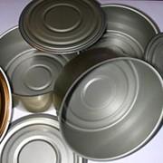 Банки металлические для консервирования круглые цельнотянутые фото