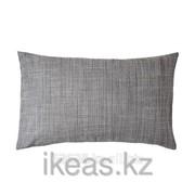 Чехол на подушку, серый ИСУНДА фото