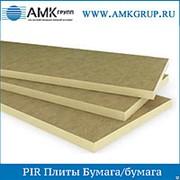 Плита PIR Бумага/бумага 40мм фото