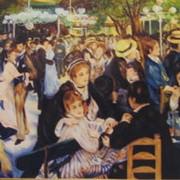 Копия картины Бал в Мулен де ла Галетт фото