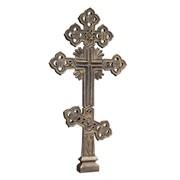 Крест могильный КС1 фото