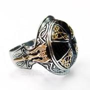 Перстень Защита викинга КСЗ 043 фото