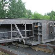 Очистка конструкции козлового крана. Степень очистки Sa−2,5 фото