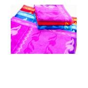 Полотенце банное с рисунком тюльпана фото