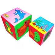 Кубики «Мякиши» (Кто где живёт) фото