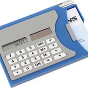 Визитница с калькулятором и ручкой фото
