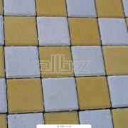 Тротуарная плитка цветная фото