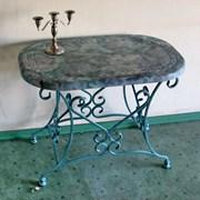 Кованый столик фото