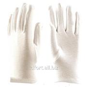 Перчатки х/б без ПВХ Атом Manipula (белые), арт. 2464 фото