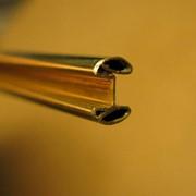 Профиль из латуни, меди, бронзы и нейзильбера для изготовления классических паяных витражей фото
