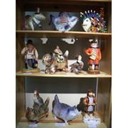 Фигурки животных, каминное украшение, авторская работа фото