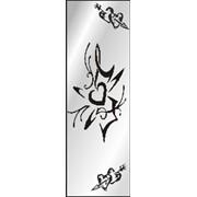Обработка пескоструйная на 1 стекло артикул 10-06 фото