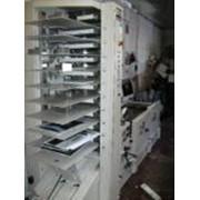 1-башня (10 лотков) +брошюровщик Bourg BST-10+сшивка AGR-T+фальцовка PA-T+обрезка TR-T 2000г. фото