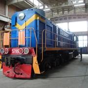 Ремонт железнодорожного транспорта фото