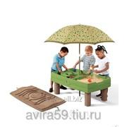 Столик для игр с песком и водой фото