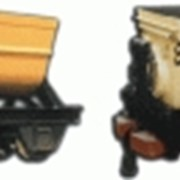 Вагонетка шахтная ВГ 1,4-600 фото