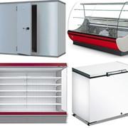 Холодильное, морозильное торговое оборудование б/у и новое фото