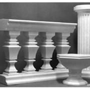 Декоративные архитектурные элементы из пластика фото