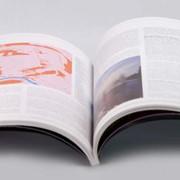 Печать журналов, каталогов, изготовление брошюр фото