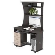 Компьютерный стол КС 20-26 Венге/дуб молочный фото