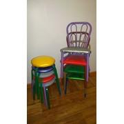 Детские стулья и табуретки фото